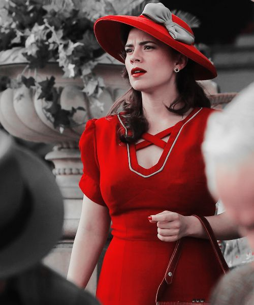 """Agent Carter"" (Season 2) she has still got it #agentcarter #marvelcomics #marvel"