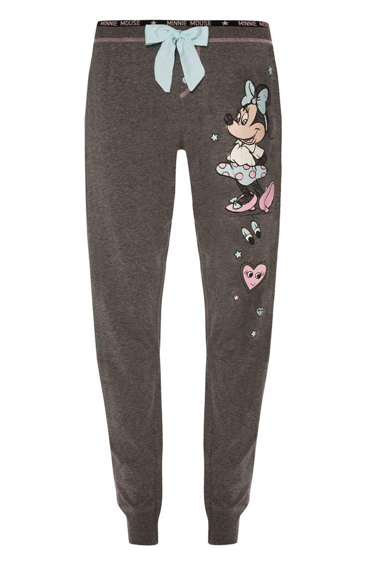 Primark - Grijze pyjamabroek Minnie Mouse