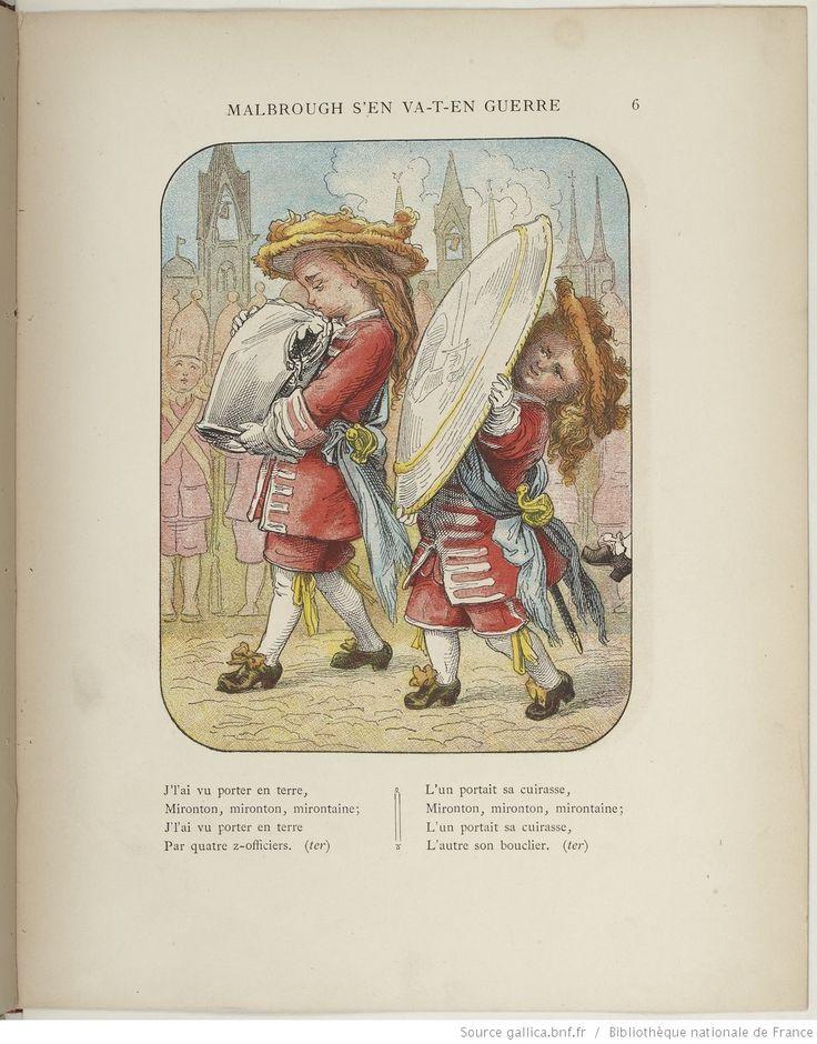 Malbrough s'en va-t-en guerre / dessins par Frölich, textes par Stahl