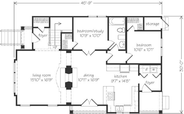 Downstairs Floorplan Modifications: Add porch or sunroom
