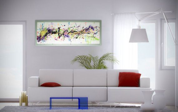 Extra Large Wall Art, Painted Glass, Unique Wall Sculpture, Abstract Glass  Art,