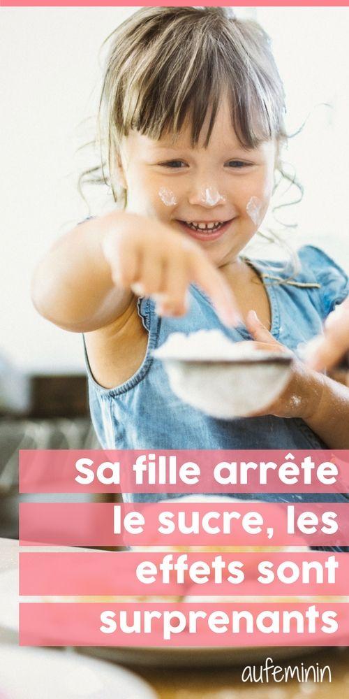 7692b5a8b732 Elle arrête de donner du sucre à sa fille, les effets sont surprenants   aufeminin