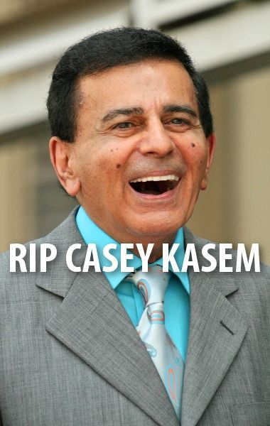 Casey Kasem died at 82, and Bill Werde was on the Today Show recently to talk about the legacy he left behind.  http://www.recapo.com/today-show/today-show-news/today-show-remembering-casey-kasem-top-40-billboard-countdown/