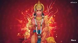 Lord Hamuman With Red Background HD Wallpaper,Anjaniputra Hanuman HD Wallpaper,Lord Hanuman HD Wallpaper And Images Download,Hanuman Statue Images
