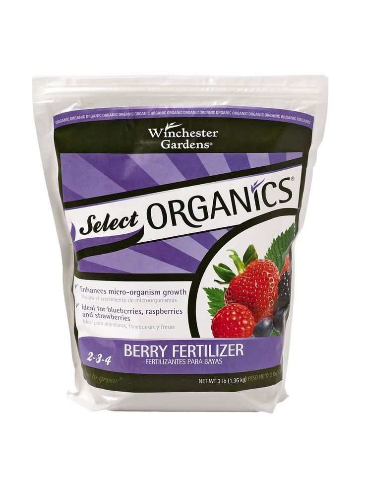 Blueberry Fertilizer - Raspberry, Strawberry | Gardener's Supply