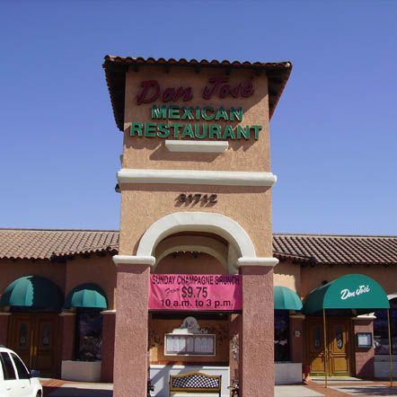 The Most Authentic Mexican Dining experience in all of Lake Elsinore? Why Not..My wife and I, moved here in 2003 and Don Jose's is the very first restaurant we encountered, It's no El Torito, but i think it is superior to El Torito, Excellent Chips n Salsa, Weekly Specials, Taco Tuesday..They even serve Hamburgers..We have experienced great service..And continue to frequent this place on an almost daily basis...yes we are that bored...