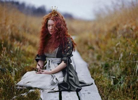 """Beautiful photo from the art book """"Maailman ihanin tyttö"""""""