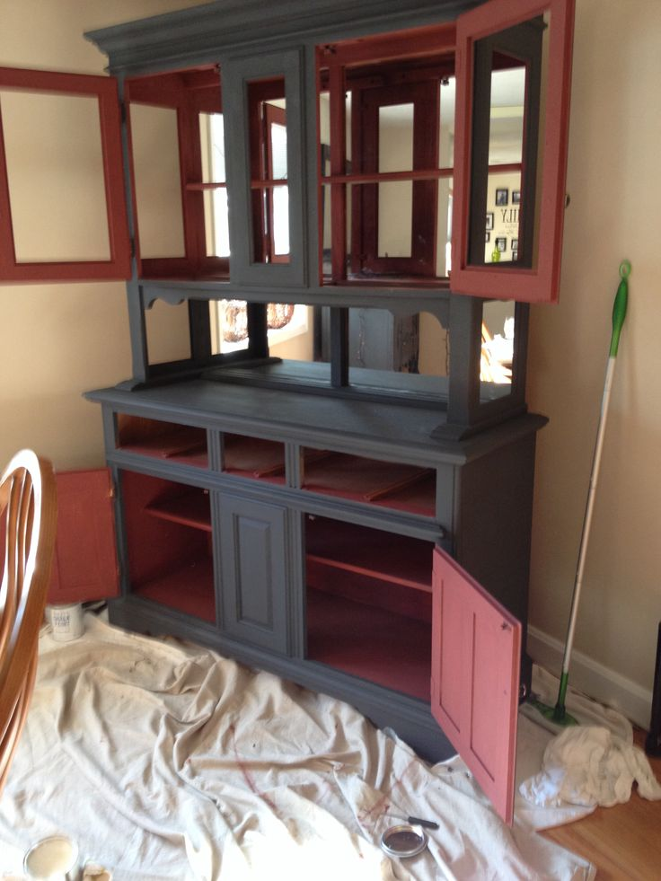best 25 red chalk paint ideas on pinterest red distressed furniture red painted furniture. Black Bedroom Furniture Sets. Home Design Ideas