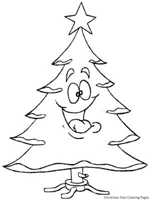 christmas tree coloring pages christmas tree coloring pages
