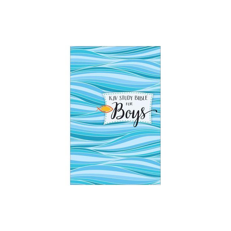 Kjv Study Bible for Boys : King James Version (Hardcover)