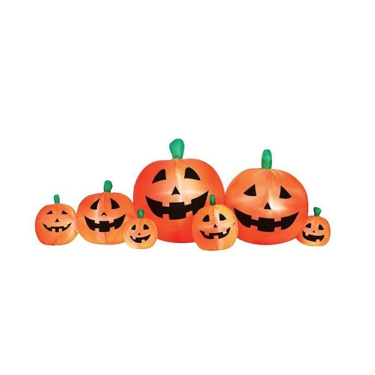 Outdoor #halloween #airblown Garden 8 ft. Inflatable #pumpkin Patch Yard #decor New