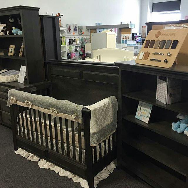 Bold black victorian nursery furniture :hearts::hearts::hearts: from  @decor4kidsstore . .