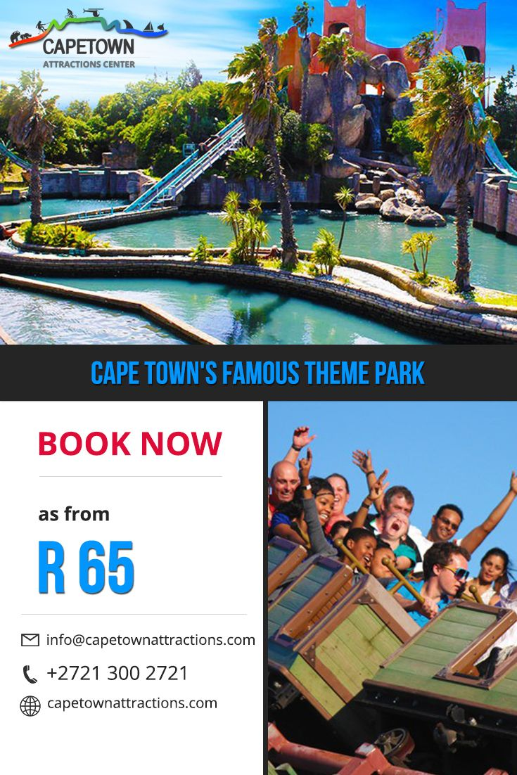 Cape Town's Famous Theme Park - Ratanga Junction. Book Now as from R 65 on http://capetownattractions.com/all-activities-in-cape-town/visit-famous-theme-ratanga-junction-in-cape-town