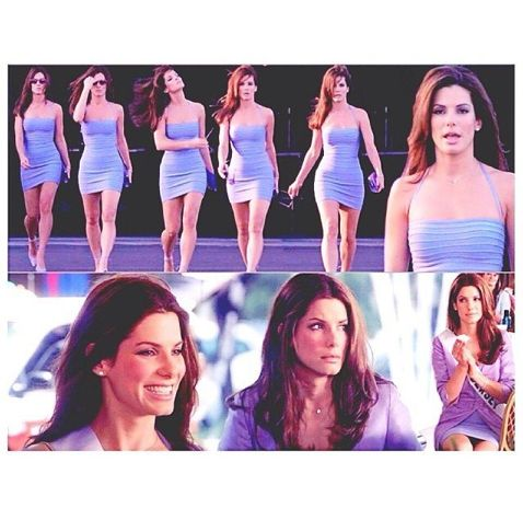 Gracie Hart in Miss Congeniality...I'm 99.95% sure this movie helped shape Jennifer Lawrence into who she is.