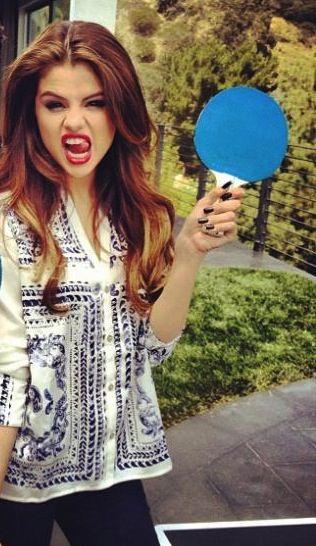 Selena Gomez #pingpongs