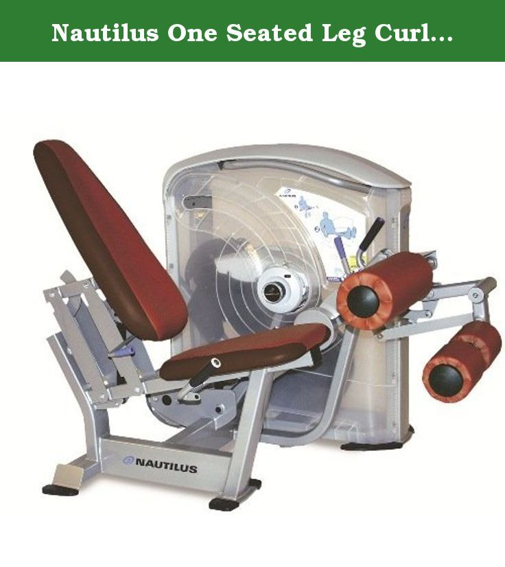 Nautilus One Seated Leg Curl Machine 250 Lbs - 5 Lb Increments. Build stronger leg muscles with the Nautilus One Seated Leg Curl Machine 250 Lbs - 5 Lb Increments, a sophisticated exercise equipment perfect for home gyms and commercial fitness centers. This exercise machine incorporates cutting-edge movement arm technology that ensures your knees are properly aligned when working out. It also includes tibia and knee pad adjustment handles that you can easily access while remaining seated…