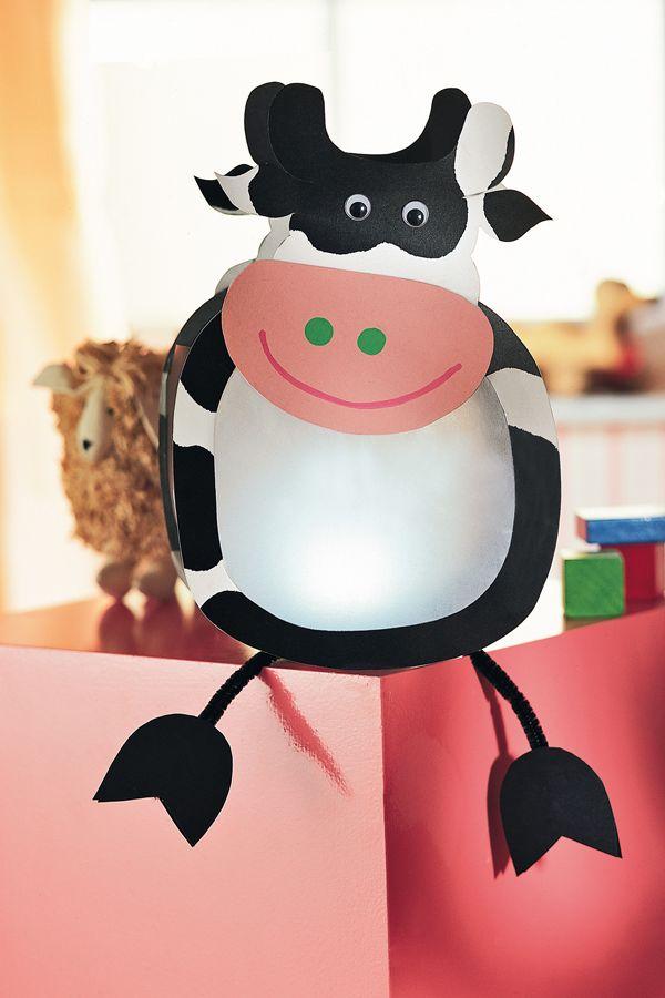 Eine Kuh als Laterne für St. Martin hat bestimmt nicht jeder ;)