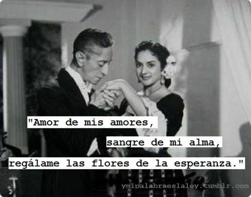 Agustin Lara ~ que caballero!