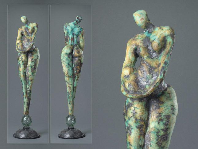 Ceramic Sculpture by Jane Burton, Figurative ceramic sculpture, sculpture in clay