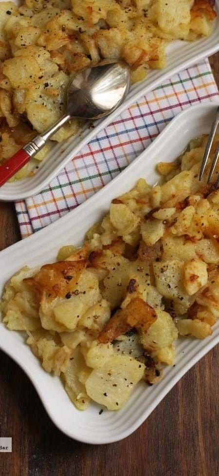 Patatas a la lionesa. Receta
