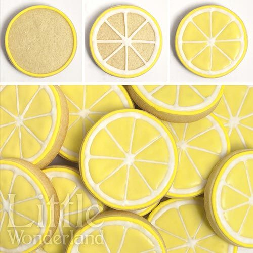 Galletas de limón | Lemon cookies