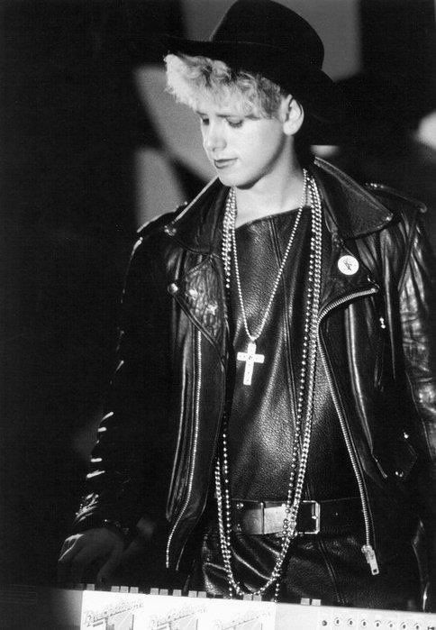 Martin Gore when I first met him - he had this on