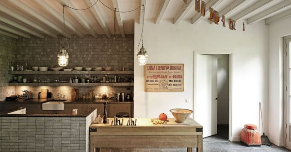 Studio by Ina & Matt   stunning use of stacked stone