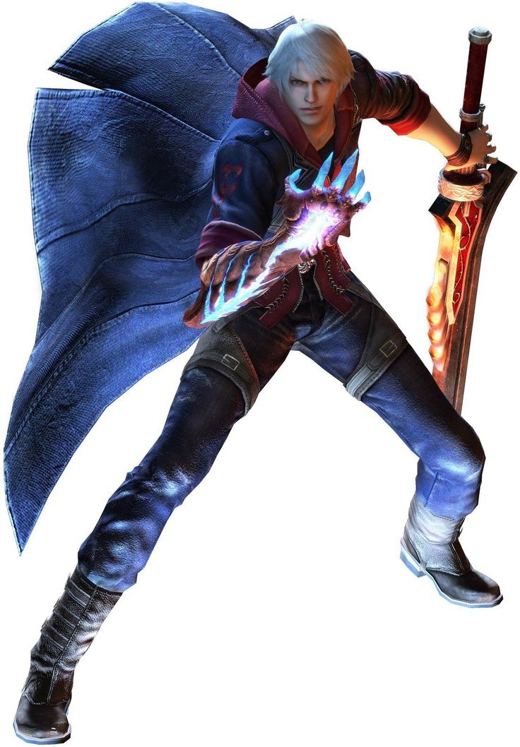 Nero is the protagonist of Devil May Cry 4 | nero is the lead character of devil may cry 4 marking his first ...