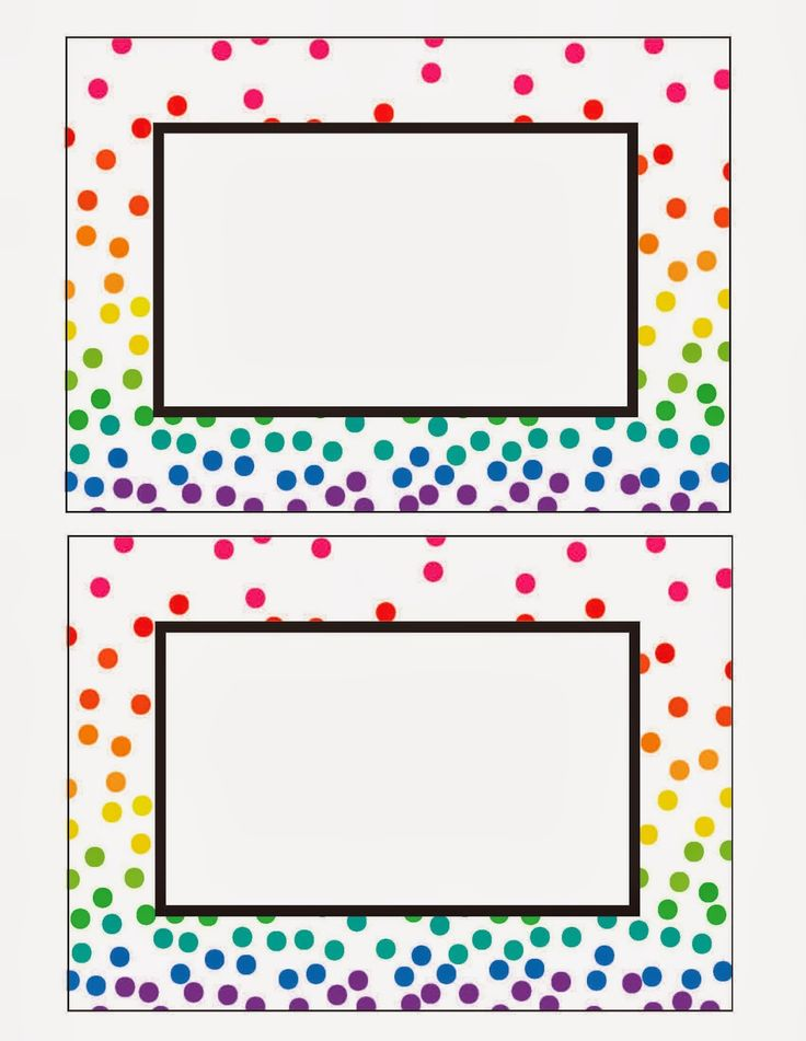 Rainbow Party Printables (Free!) by Everyday Art                                                                                                                                                                                 More