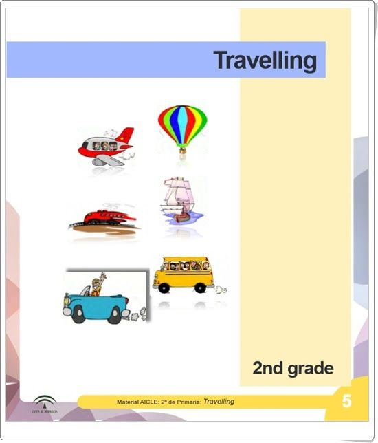"Unidad 3 de Social  Science de 2º de Primaria: ""Travel and communication"""