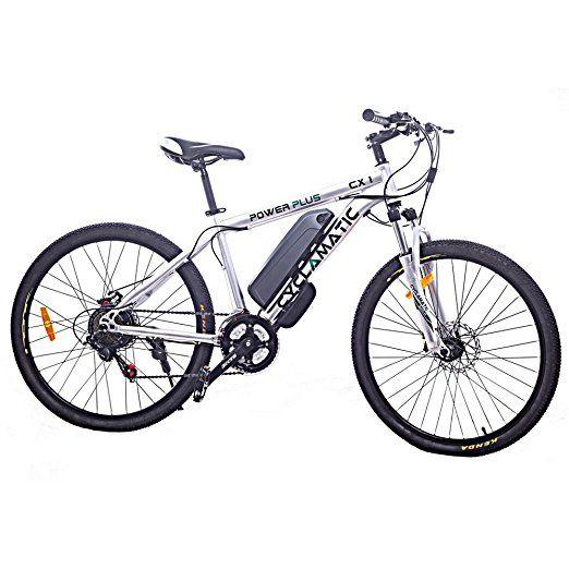 Marshall Field's Company: Cyclamatic Power Plus CX1 Electric Mountain Bike w...