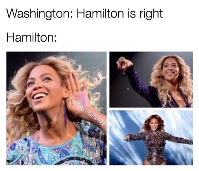 Hamilton loved being right