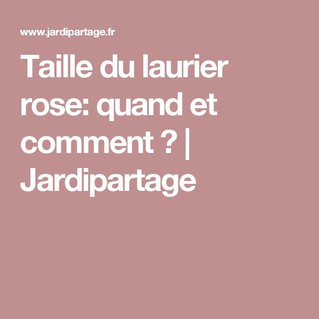 Les 25 meilleures id es concernant laurier rose sur pinterest entretien laurier rose - Periode taille laurier rose ...