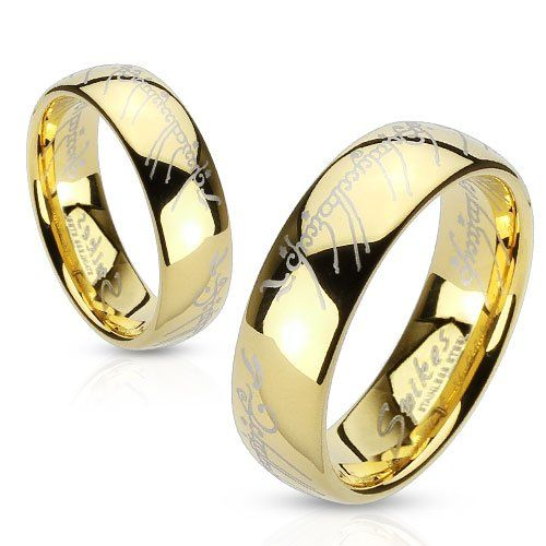 Lord of the Ring-Stainless Steel Gold... $0.01 #topseller