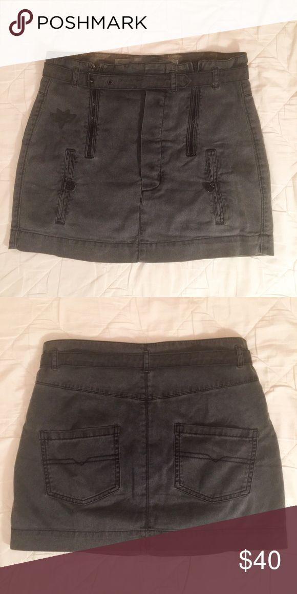 Diesel Dark Blue Denim Skirt Diesel Denim Skirt. Size 27. Diesel Skirts Mini