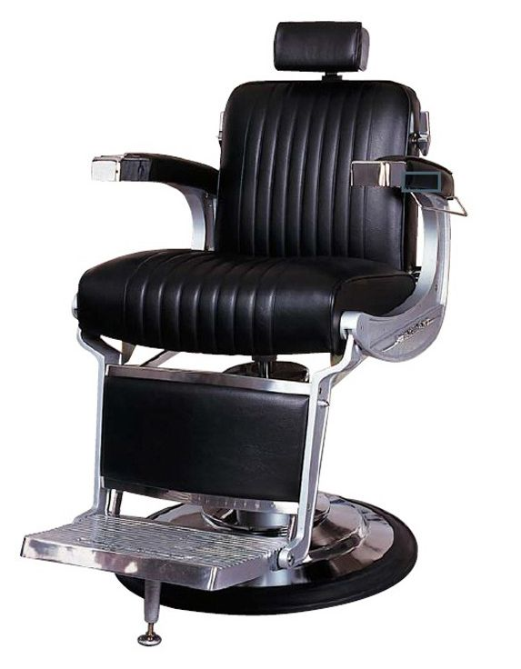 Has horizontally swinging barber chair aassfffff OMG, love