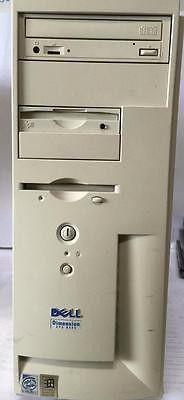 Dell Dimension XPS R400@400MHz 256MB RAM VINTAGE COMPUTER PENTIUM II