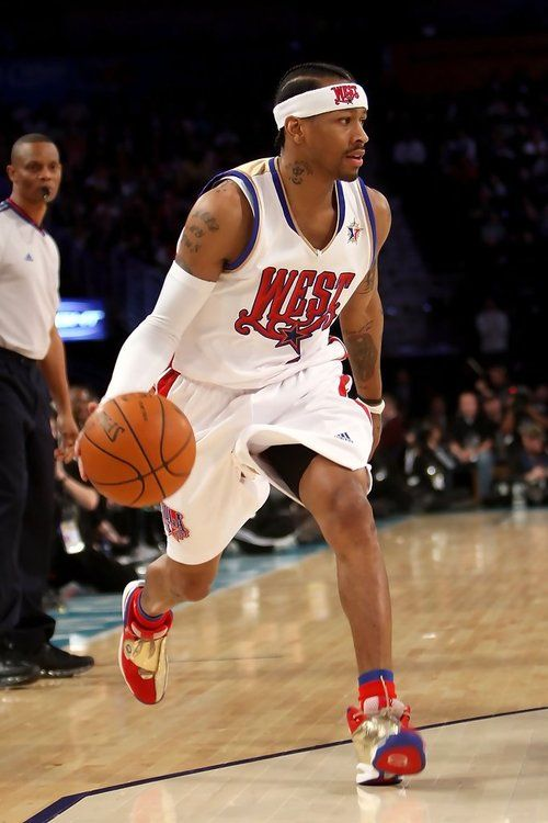 Allen Iverson dribbles at the 2008 NBA All-Star Game from New Orleans, LA | All-Star Games and ...