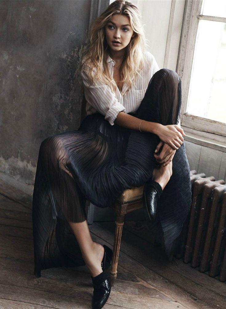 Gigi Hadid: Vogue Spain 2015