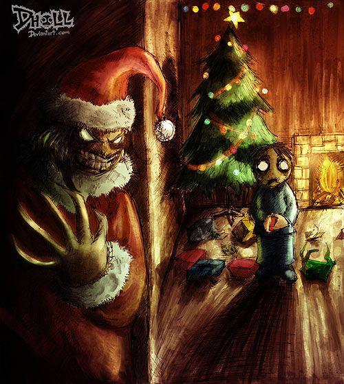 Santa Claws by dholl on deviantART