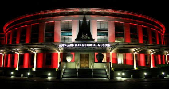 Auckland War Memorial Museum..
