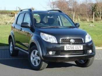 Used 2006 (56 reg) Black Daihatsu Terios 1.5 SX 5dr for sale on RAC Cars