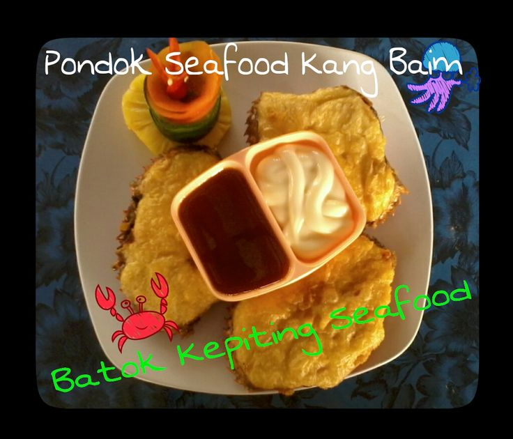 batok kepiting seafood