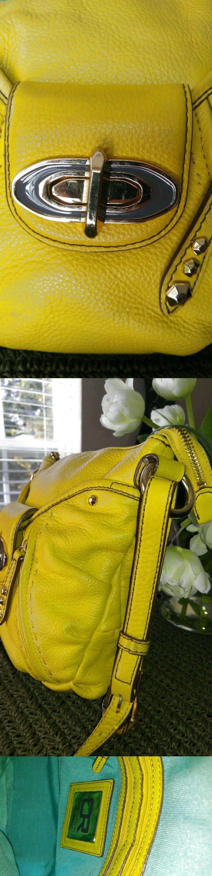 orYANY Small/Med Cross Body Pebbled Leather Handbag $25.0