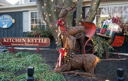Lancaster County Christmas Events I Kitchen Kettle Village