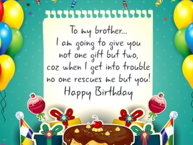 Happy Birthday Messages for Brother – Birthday Messages