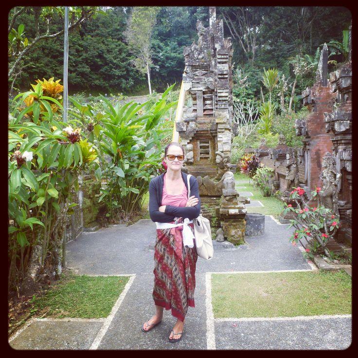 Gunung Kawi with Nyoman.