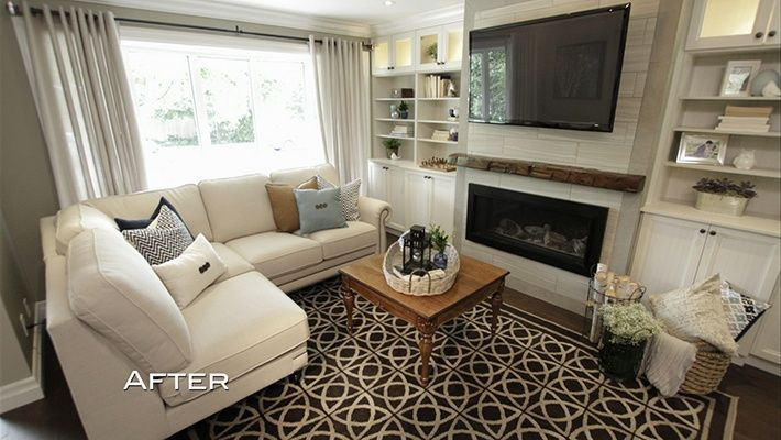 """The Property Brothers installed Castillian Oak Coffee Bean into this home on episode 79 of season 4.  The Castillian Oak Coffee Bean product is a 1/2"""" engineered product and it boasts a 25 year finish warranty.  To learn more about this product please visit www.mullicanflooring.com ."""