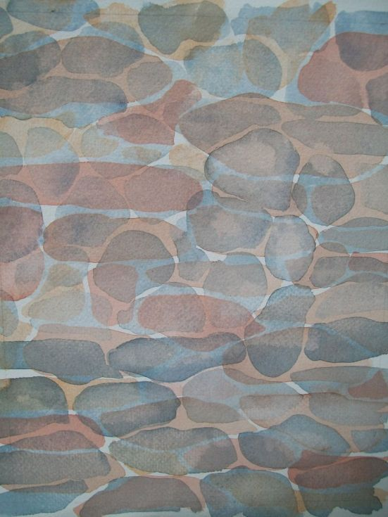 ARTFINDER: Stone walls: marró by Leigh Sanders - Inspired by the traditional handbuilt stone walls in Alt Empordà, Catalonia (north-eastern Spain).  I love the stone walls, each so unique, organic, and a wo...