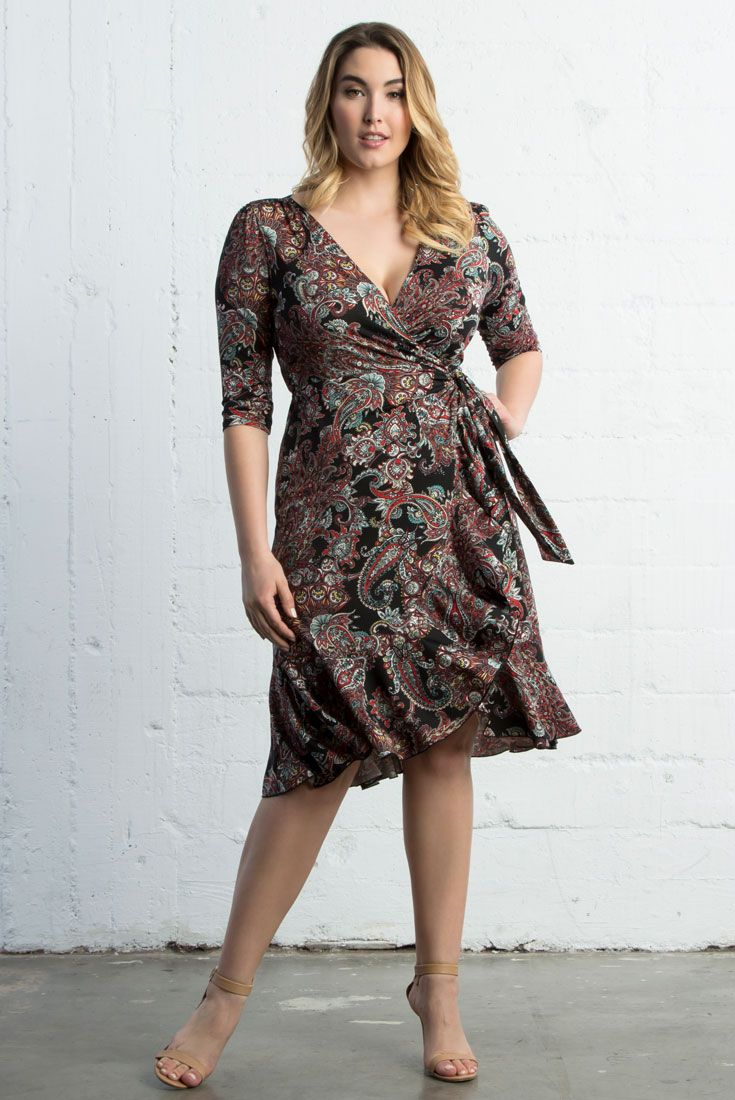 Add playful prints to your wardrobe with our Flirty Flounce Dress. This  paisley print paired with flounces along the hemline make this style fun  and great ... 72ebc91fc01